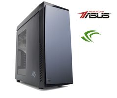 PC MIRONET Game Intel bez OS / Intel i7-7700 3,6GHz / 16GB RAM 2400MHz / 250GB M.2 + 3TB HDD / GTX 1070