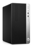 HP ProDesk 400 G4 MT / i3-7100 3.9 GHz / 8GB / 256 GB SSD / Intel HD 630 /  DVDRW / Win10 Pro
