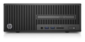 HP 280 G2 SFF /  i3-6100 3.7 GHz / 4GB / 128 GB SSD / Intel HD 530 /  DVDRW / Win10 Pro