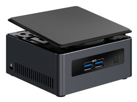 Intel NUC Dawson Canyon 7i5DNHE / Core i5-7300U 2.6GHz / 2x DDR4 SO-DIMM / Intel HD 620 / USB 3.0 / WI-Fi / Bez OS