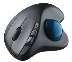Logitech Trackball Wireless M570 / Laser / Unifying / 5 tl. / USB