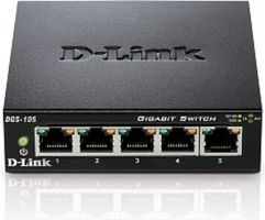 D-Link DES-105 / Switch / 5-port 10/100 Mbps