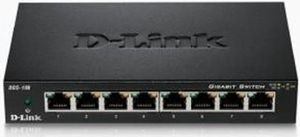 D-Link DGS-108 / 8-Port Switch / 10/100/1000Mbps