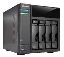 Asustor AS204T / 4x HDD / Intel Atom DC @1.20GHz / 512MB RAM / 2x USB 3.0 / 2x USB 2.0 / GLAN