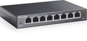 TP-LINK TL-SG108E / Switch / 16 Gbps / 8x GLAN