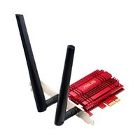 ASUS PCE-AC56 / Wi-Fi Adapter AC1300 / 2.4GHz - 400Mbps / 5GHz - 867Mbps / PCI-Express x1