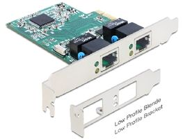 Delock karta PCI Express / 2 x Gigabit LAN