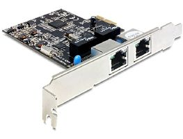 DeLock PCI Express karta / 2x Gigabit LAN / +low profile