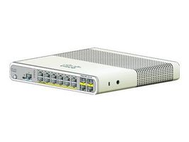 Cisco WS-C2960C-12PC-L / 12x RJ-45 100M / PoE / 2x Dual Purpose / LAN Base