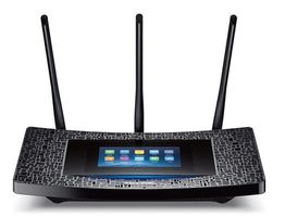 TP-LINK Touch P5 / MIMO Router AC1900 / 2.4GHz - 600Mbps / 5GHz - 1300Mbps / GWAN + 4x GLAN / USB 3.0 + USB 2.0