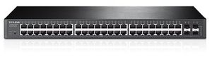 TP-LINK T1600G-52TS (TL-SG2452) Smart Switch / 48x10/100/1000 + 4x SFP Gbit porty