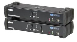 ATEN CS1784A / 4-Port DVI USB 2.0 KVMP Switch / 2.1 Surround Sound / nVidia 3D