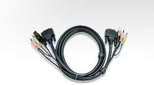 ATEN KVM Kabel DVI+USB+Audio / 3m