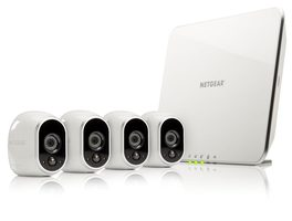NETGEAR ARLO VMS3430 / 4 x HD Camera WiFi + Smart Home Base Day/Night In/0utdoor