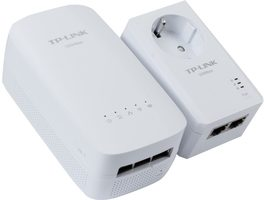TP-LINK TL-WPA4530 Starter Kit / AV500 Powerline ac Wi-Fi Kit / 500Mbps / 3xLAN / WiFI
