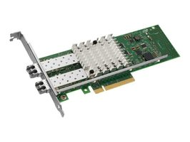Intel Ethernet Converged Network Adapter X520-SR2 / PCI Express 2.0 x8 / 10GBase-SR x 2 / bulk