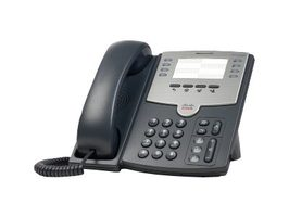 Cisco Small Business SPA 501G šedá / Telefon VoIP / SIP¨/ SIP v2 / SPCP