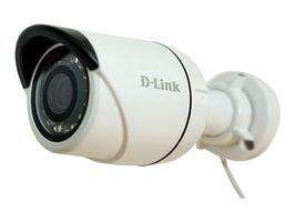 D-Link DCS-4703E / Outdoor PoE Mini Bullet kamera / 3MPx / 2048x1536 / IR / WDR / 3D filter / IP66