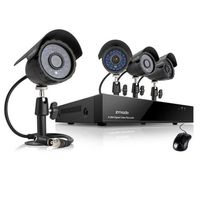 Bazar - Zmodo DVR kit / 4CH recorder / 4x CMOS IR camera
