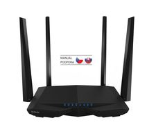 Tenda AC6 Wireless AC Router 1200 Mbps / Wi-Fi  802.11ac / Dual Band / 1 x WAN / 3 x LAN