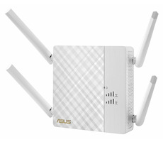 ASUS RP-AC87 / WiFi repeater a multimediální most 802.11ac / Dual-Band / 1x GLAN / 4x anténa
