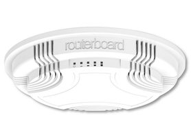 MikroTik RBcAP2nD / CAP ceiling Access Point / 802.11bgn / L4 64MB RAM / 1xLAN / PoE 802.3af at