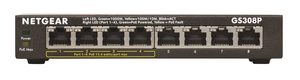 NETGEAR GS308P / Switch / PoE / 8x GLAN
