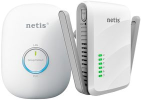 Netis PL7622KIT / Powerline Ethernet adapter / 300Mb/s / 2 kusy homeplug