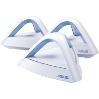 ASUS Lyra Trio AC1750 / Access Point AC1750 / 5GHz -1300Mbps / 2.4GHz - 450Mbps / 2x GLAN / 1x WAN / 3-pack