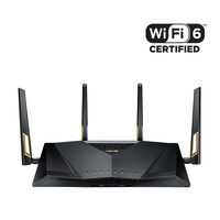 ASUS RT-AX88U / MESH router / 2.4GHz - 1148Mbps / 5GHz - 4804Mbps / WAN + 1x LAN / USB 3.0