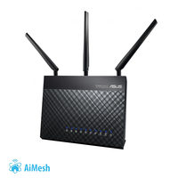 ASUS RT-AC67U 2ks / MESH router / AC1900 Gigabit Dual-Band Router / 4x LAN / 1x WAN / USB