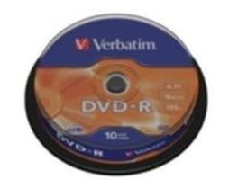 Verbatim 10ks DVD-R 4.7GB 16x / Spindl