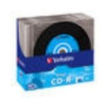 Verbatim 10ks CD-R 700MB 52x / Data Vinyl / SlimCase