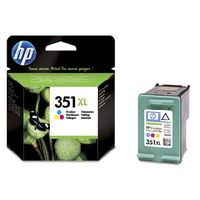 HP CB338EE Ink Cart No.351XL pro OJ 5780, 5785, 14ml, Color
