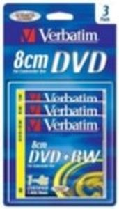 Verbatim 3ks mini DVD+RW 1.4GB 4x / Blister
