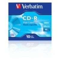 VERBATIM CD-R 90 40x box 10pck/BAL