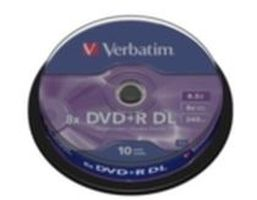 Verbatim 10ks DVD+R DL 8.5GB 8x / Spindl