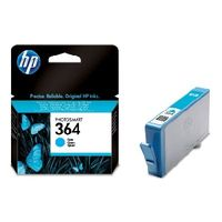 HP CB318EE Ink Cart No.364 pro D5460, C5380, 3ml, Cyan