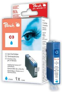 Peach BCI-3e alternativní cartridge  / 13 ml / modrá