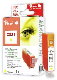 PEACH kompatibilní cartridge Canon CLI-521Y, Yellow, 10 ml