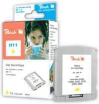 Peach 11 alternativní cartridge / Business inkjet 2200 / 28 ml / Žlutá