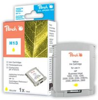 Peach 13 alternativní cartridge / HP Business inkjet 1000 /  17,1 ml / Žlutá