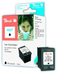 Peach 27 alternativní cartridge / DeskJet 3320, 3325 / 10 ml / Černý