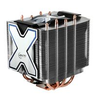 ARCTIC Freezer Xtreme / 120 mm / Fluid Dynamic Bearing / 0.5 Sone @ 1500 RPM / Intel + AMD