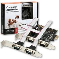 AXAGO Řadič do PCIe / port serial 4x