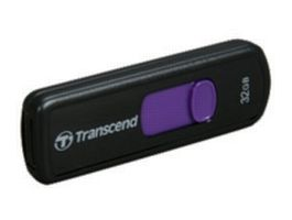 Transcend JetFlash 500 32GB / Flash Disk / USB 2.0 / černo-fialový