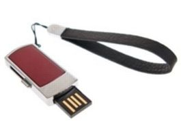 Transcend JetFlash V95 4GB / Flash Disk / USB 2.0 / červený