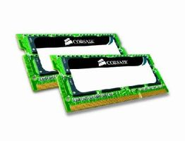 Corsair 8GB SO-DIMM DDR3 1066MHz / 2x4GB KIT / CL7 / 1.5V