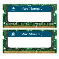 Corsair 8GB SO-DIMM DDR3 1066Mhz / 2x4GB KIT / CL7 / 1.5V / pro Apple