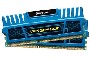 Corsair Vengeance Blue 4GB DDR3 1600MHz / 2x2GB KIT / CL9 / 1.5V / XMP